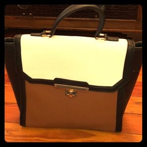 White House Black Market Color Black Satchel